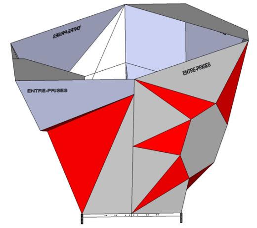 4ユニットによる自立型構成